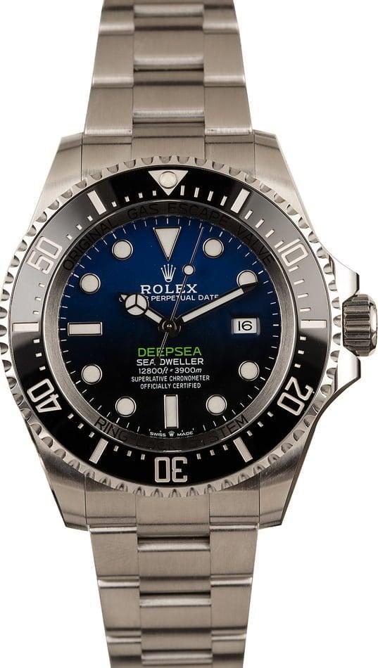 Best Guide Rolex Sport Watches Deepsea Sea-Dweller 126660 D-Blue Dial divers watch