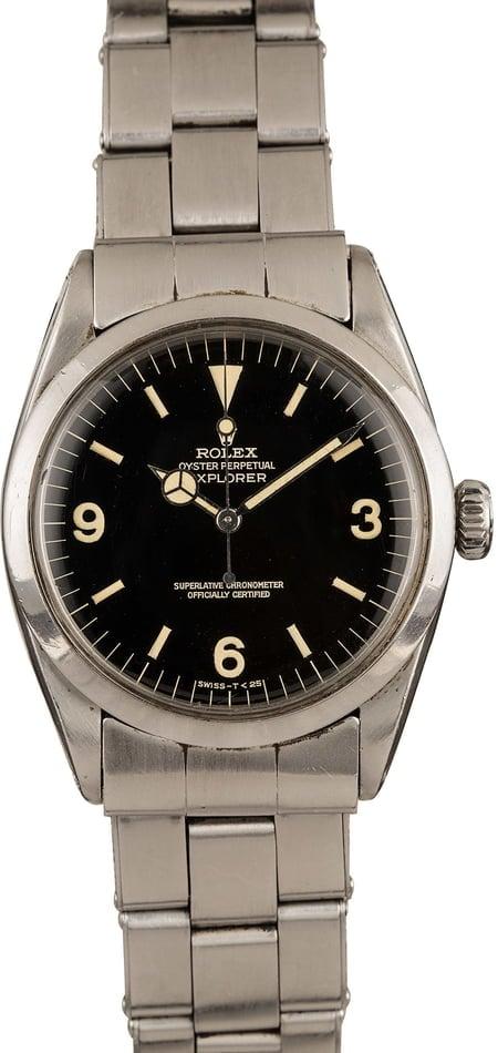 Vintage Luxury Watches Collect 2020 Rolex Explorer