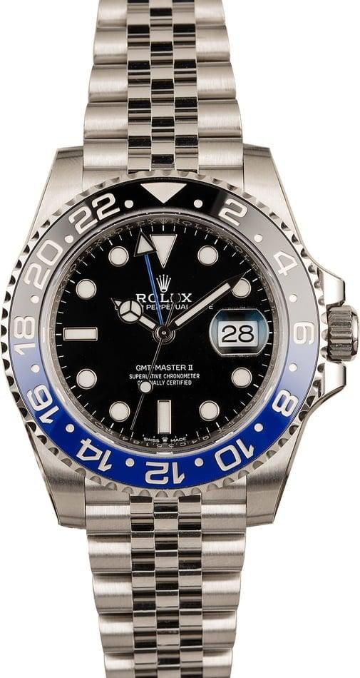 Rolex Watches GMT-Master II Batman BLNR