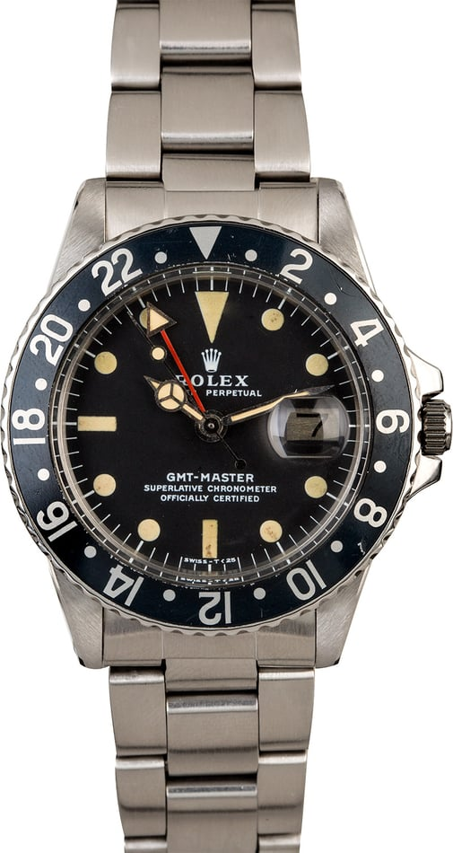 Top 3 Most Popular Vintage Rolex GMT-Master Watches All-Black