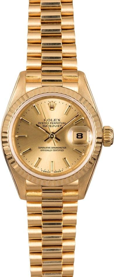 Best Rolex Datejust Watches Under $10K Lady-Datejust 69178