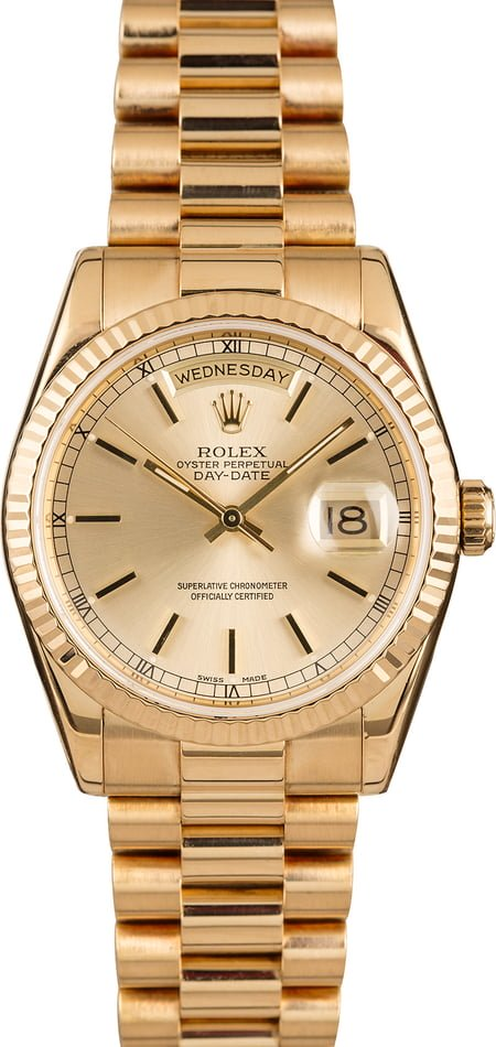 Mens Luxury Watches Iconic Classics Rolex Day-Date President