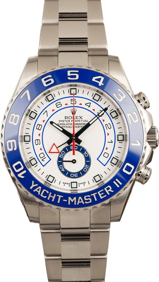 Rolex Sport Watches Complete Guide Yacht-Master II 116680 sailors watch