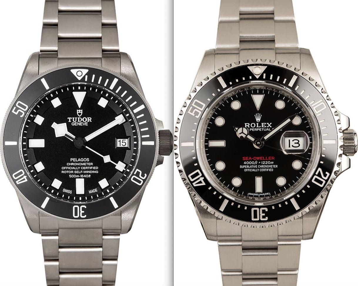 Rolex Sea-Dweller vs Tudor Pelagos