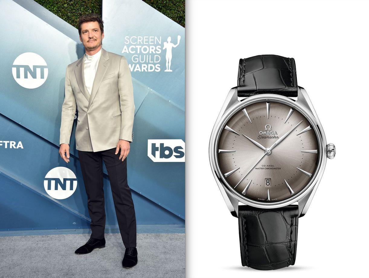 Omega Watches 2020 SAG Awards 26th Pedro Pascal Seamaster City New York