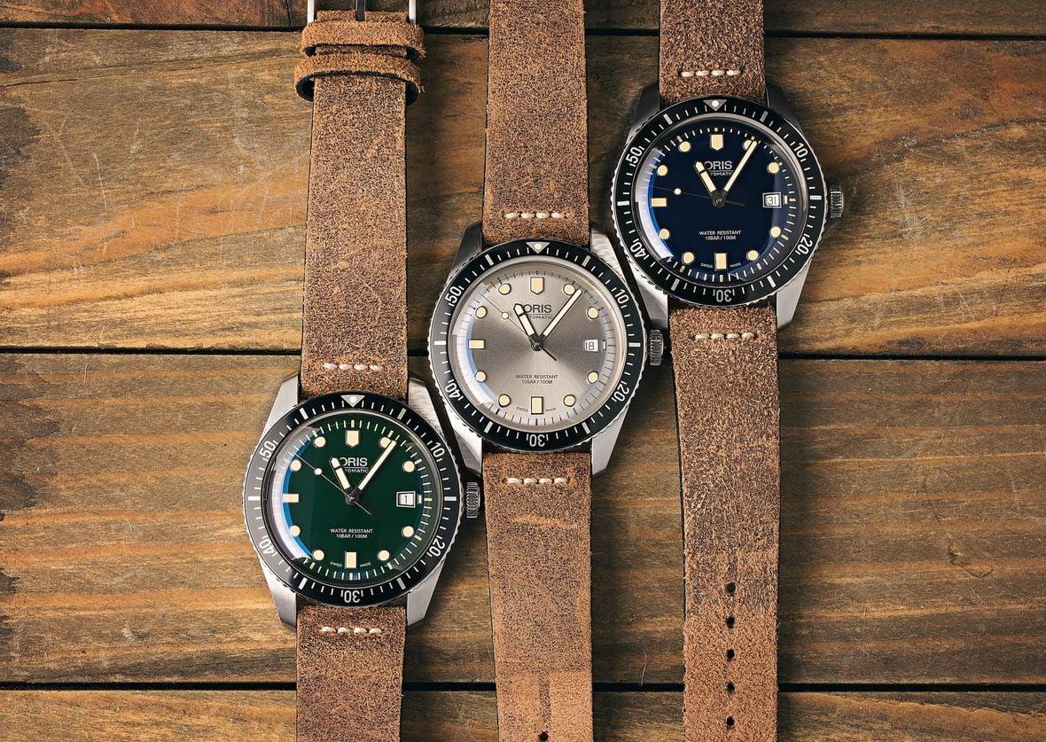 Oris Divers Sixty-Five Watch Options