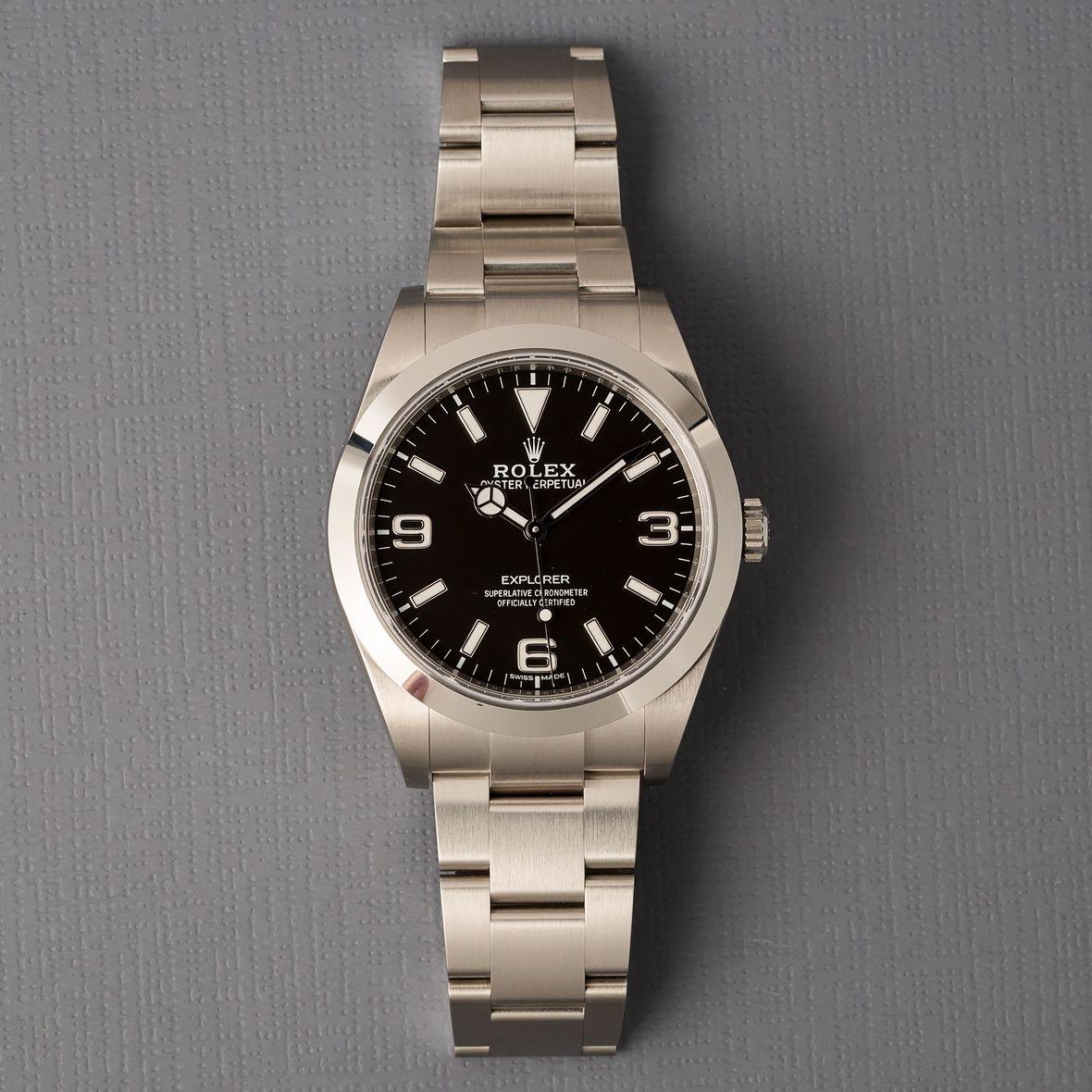 Best Rolex Sports Watches Explorer 214270