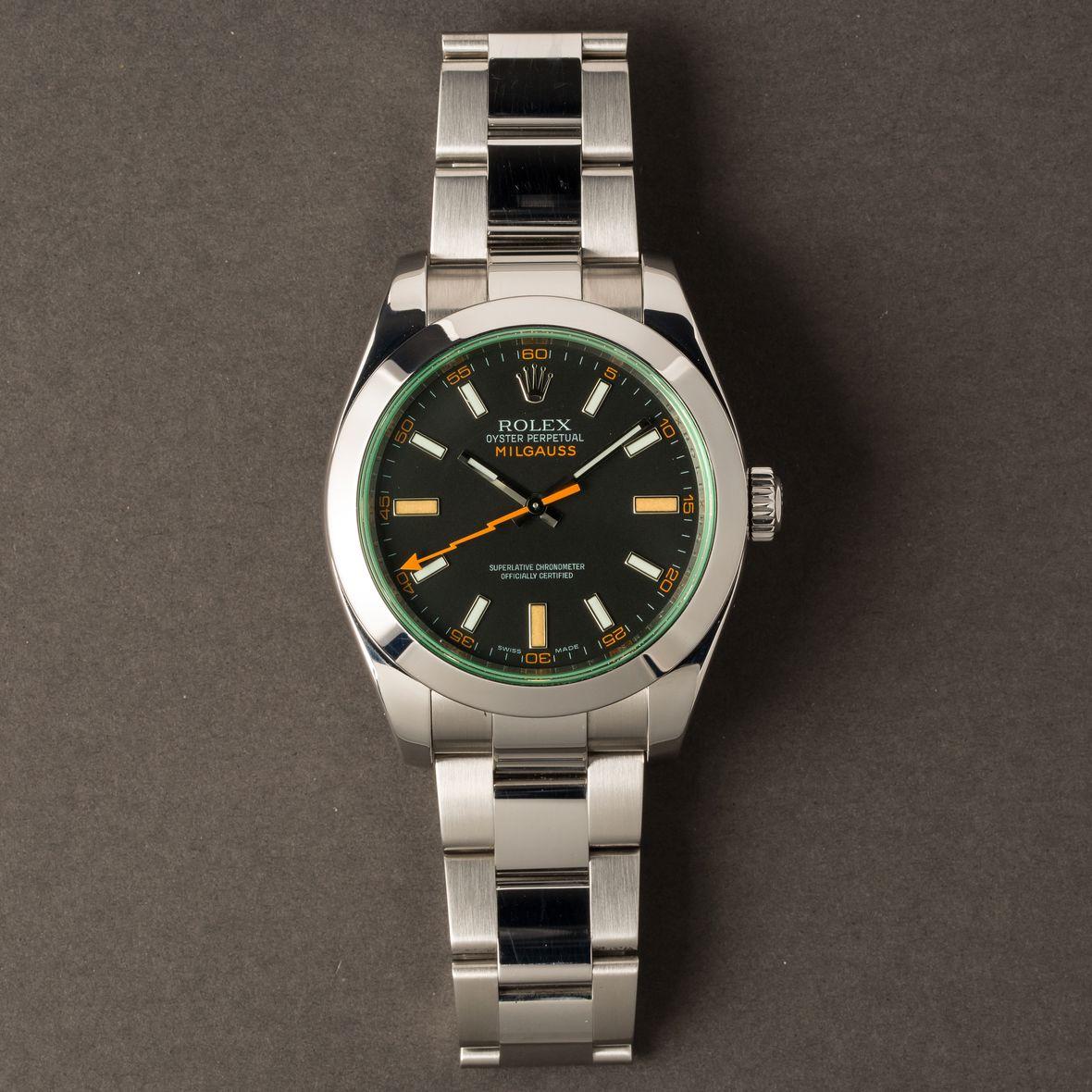 Best Rolex Sports Watches Milgauss 116400GV