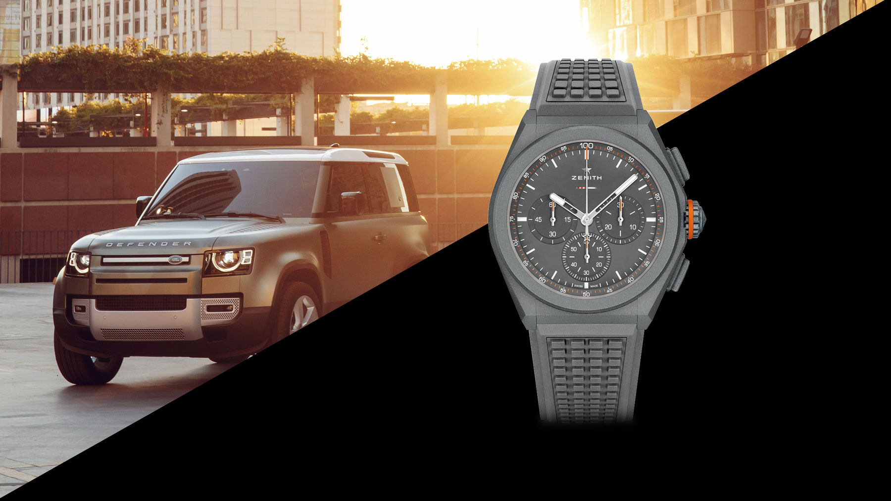 Zenith DEFY EP21 Land Rover Edition Luxury Watches LVMH Watch Week Dubai 2020