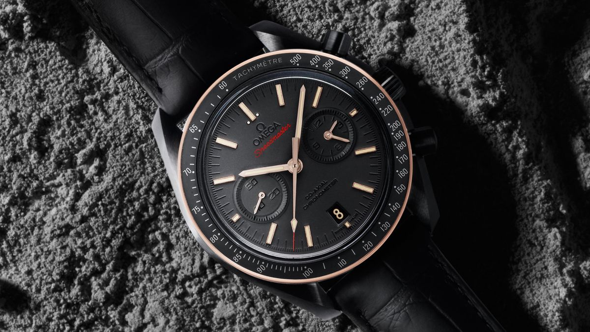 Omega Watches 25th Annual Critics Choice Awards Speedmaster Dark Side of the Moon Sedna