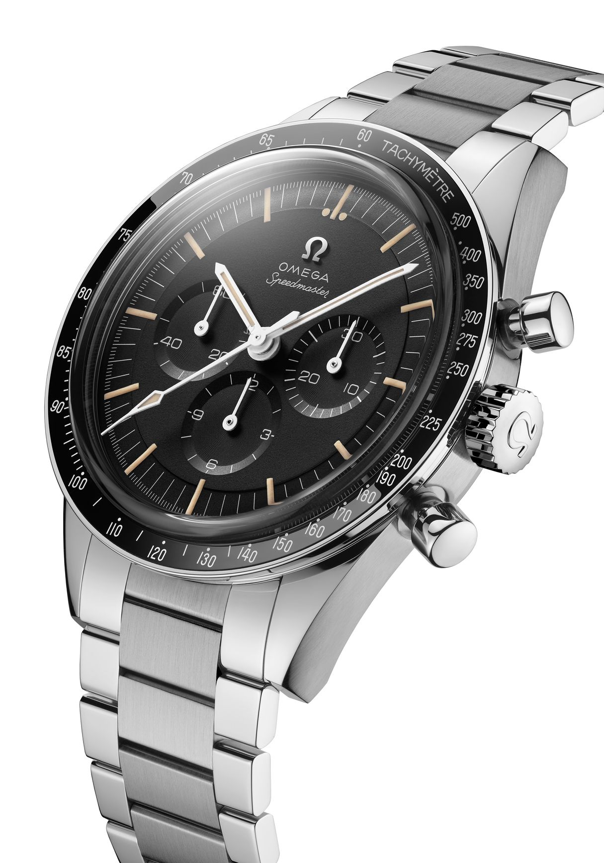 Stainless Steel Omega Speedmaster Moonwatch 321