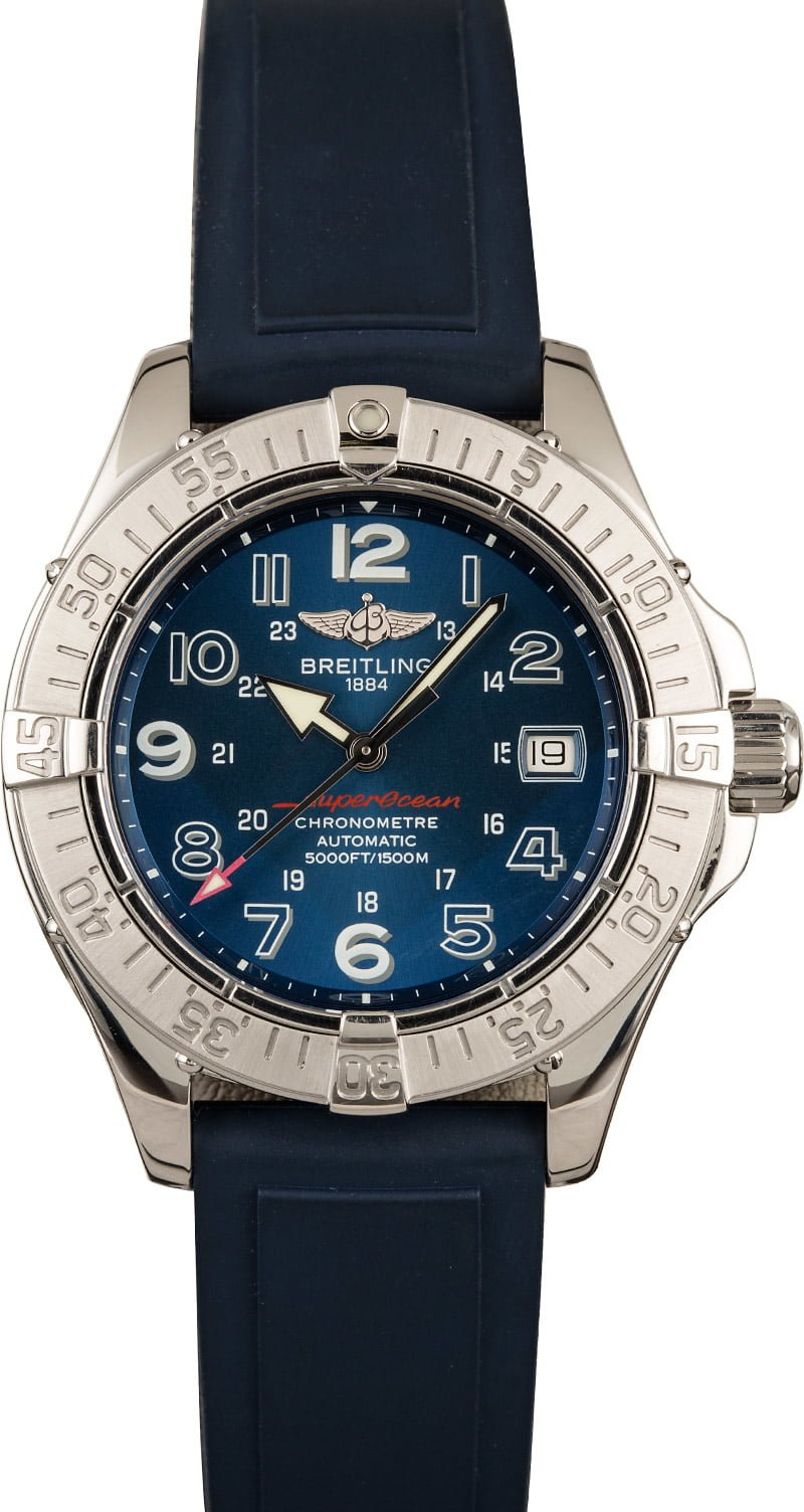 Breitling Superocean Shopping Guide Rubber Strap