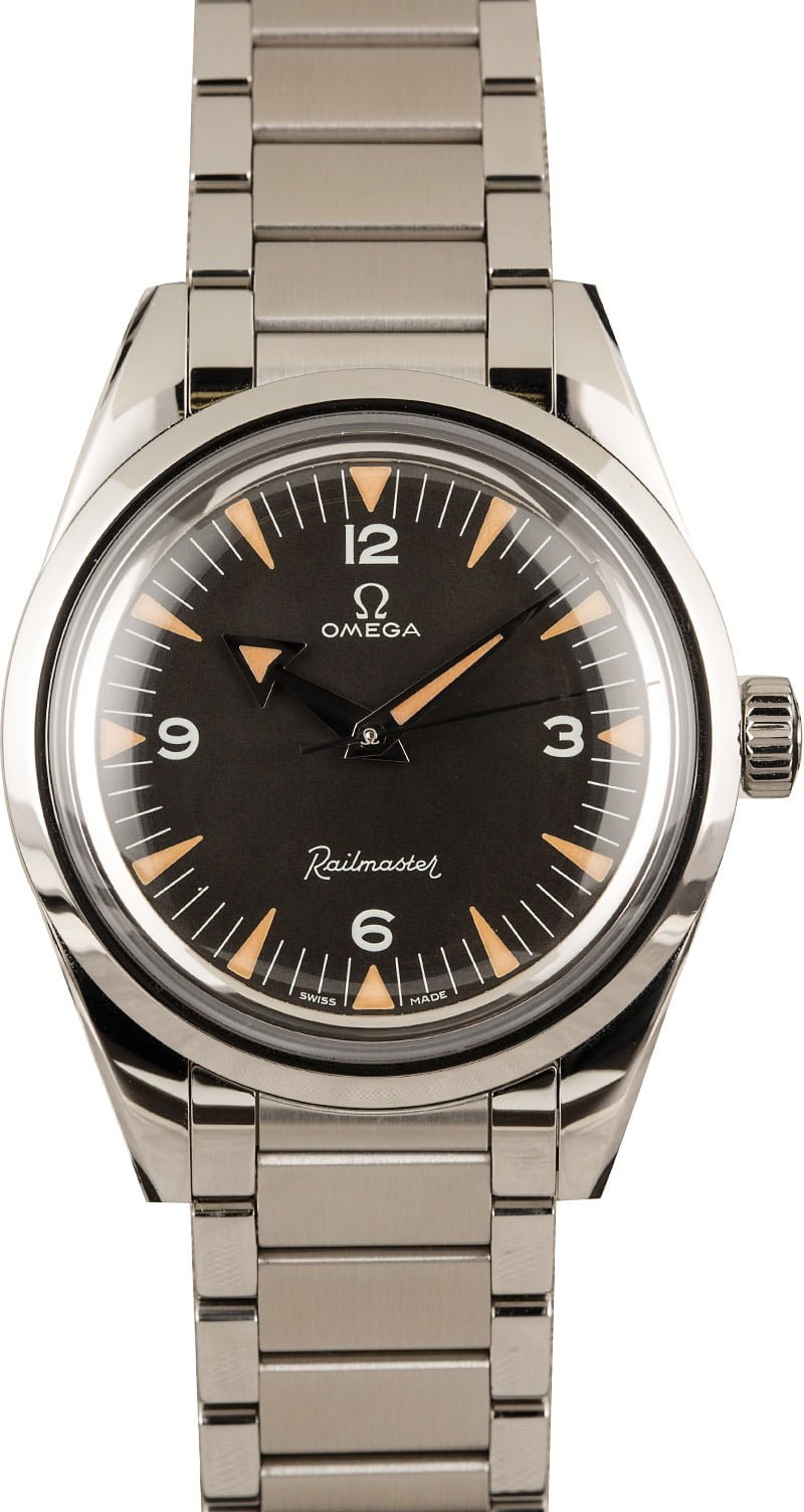Omega Watches Top 3 Favorite Models Railmaster