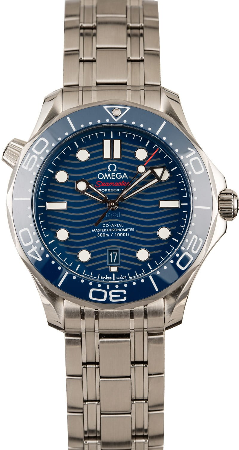 Omega Watches Seamaster Diver 300M