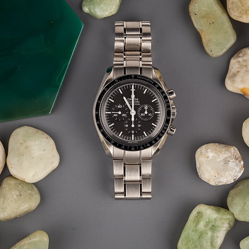 How to use Omega Professional Moon watch Tachymeter