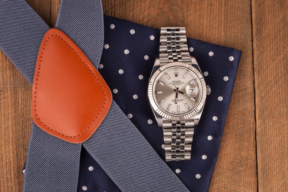 White Gold Rolex Datejust 41mm Most Popular 126334 Silver Dial Jubilee Bracelet Oystersteel