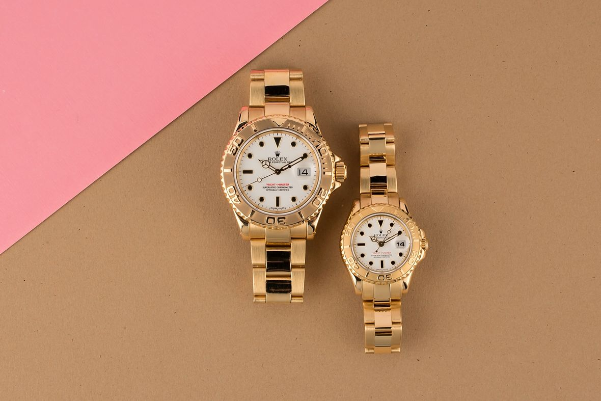 Rolex Valentines Day Buying Guide His and Her Yacht-Master Watches