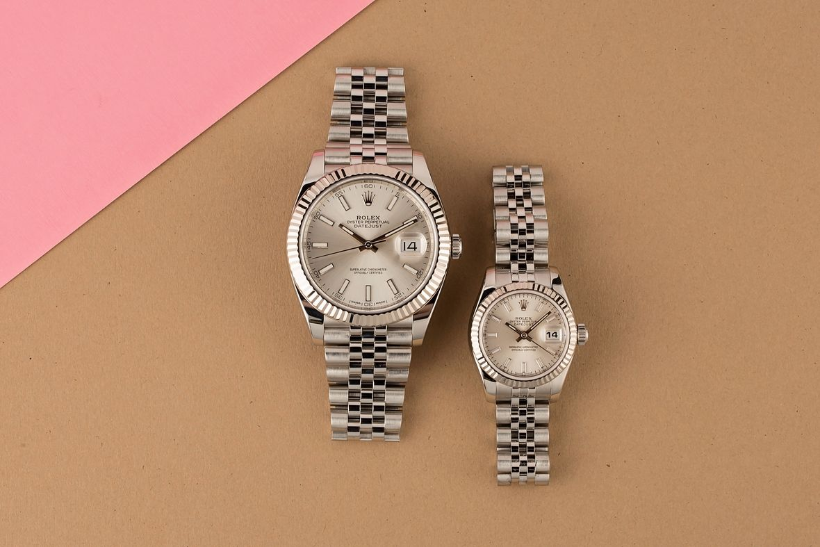 Rolex Valentines Day Buying Guide His and Her Datejust Watches