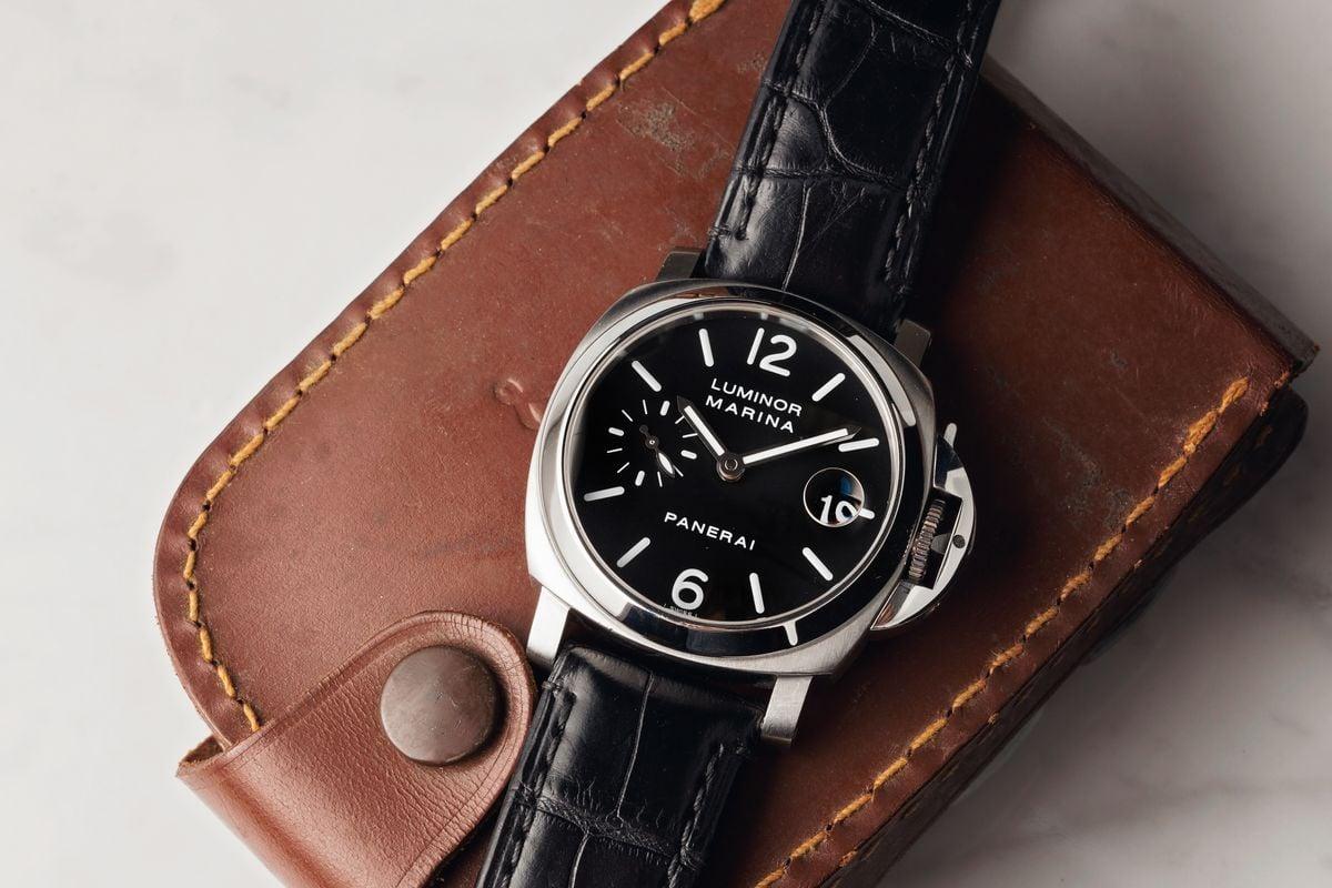 How to Style Men's Luxury Watches Guide Panerai Luminor Marina