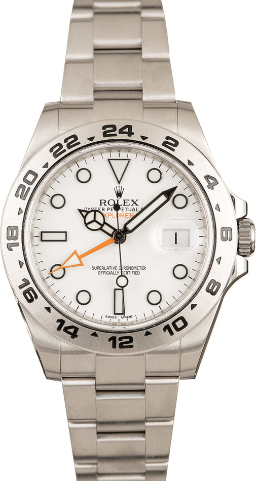 Rolex watches for men sizing guide Polar Explorer II 216570