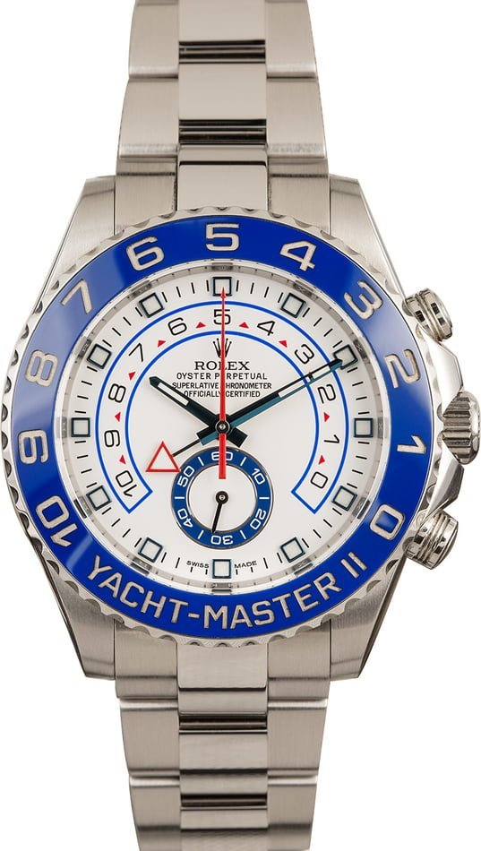 Rolex watches for men size guide Yacht-Master II 116680