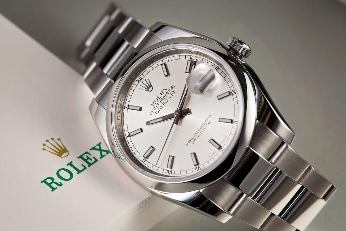 Best Men's Luxury Watches Beginner's Guide Rolex Datejust