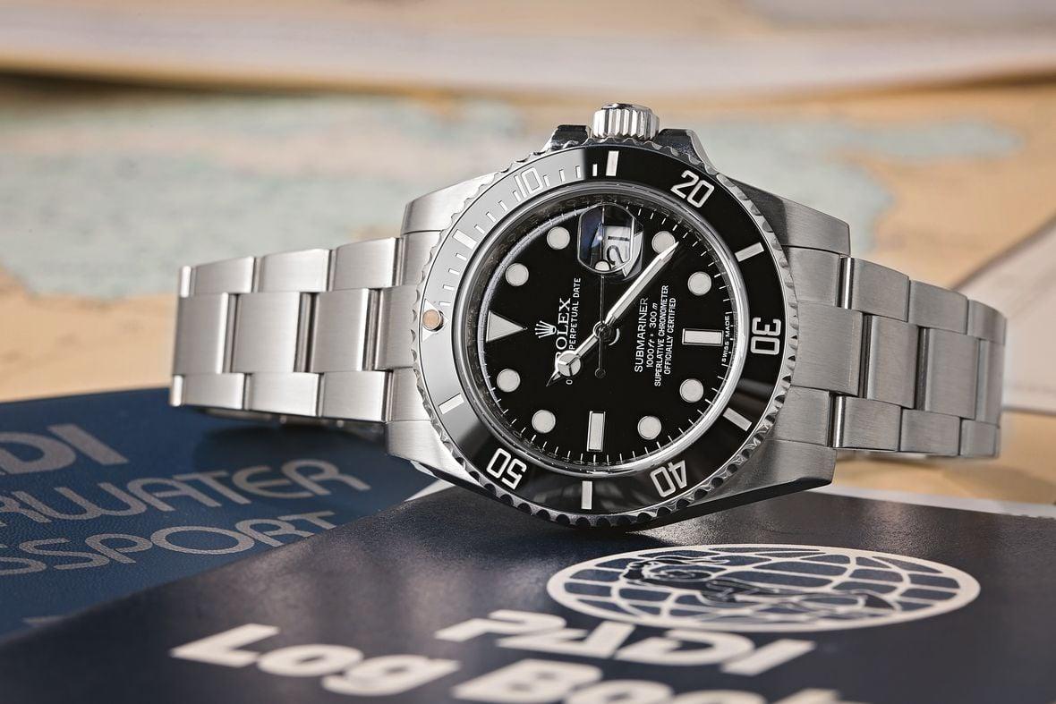 Rolex 116610LN Submariner Stainless Steel Black