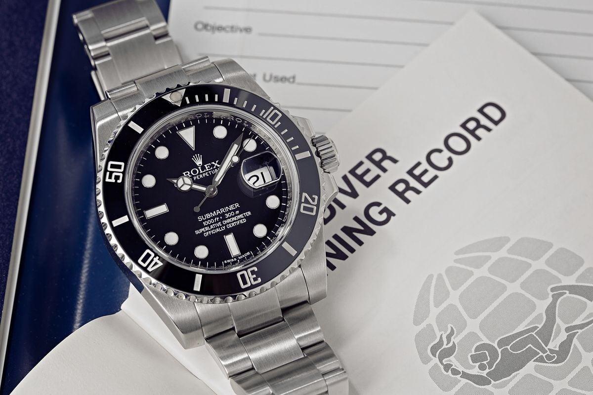 Rolex Submariner Black Dial 116610 LN Best Dive Watch Ever