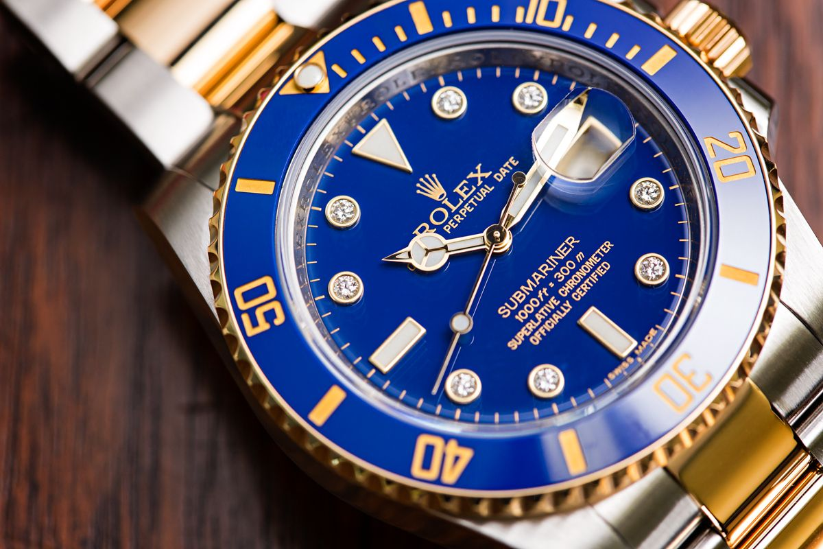 Rolex Submariner Blue Baselworld 2020 Predictions 116613LB Serti Dial Diamonds