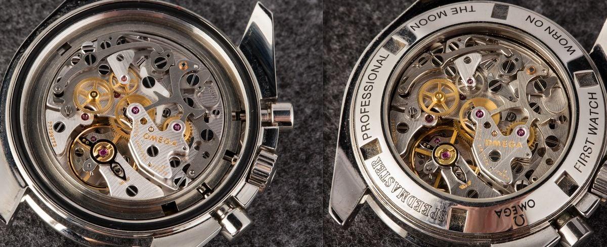 Omega Speedmaster Professional Moonwatch Movements Caliber 1861 vs Caliber 1863