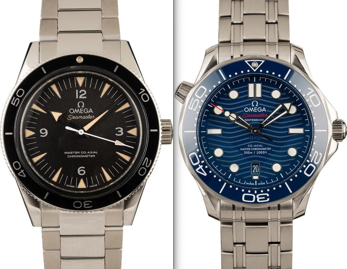 Omega Seamaster 300 vs Seamaster Diver 300M Comparison Guide