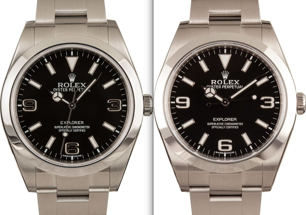 Rolex Explorer Before you buy guide MK1 vs MK2 39mm