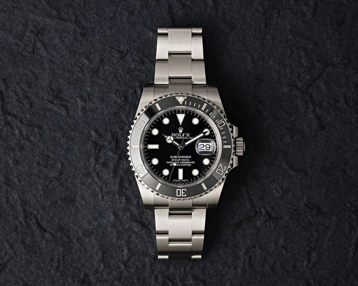 Rolex 116610LN Submariner Black Stainless Steel