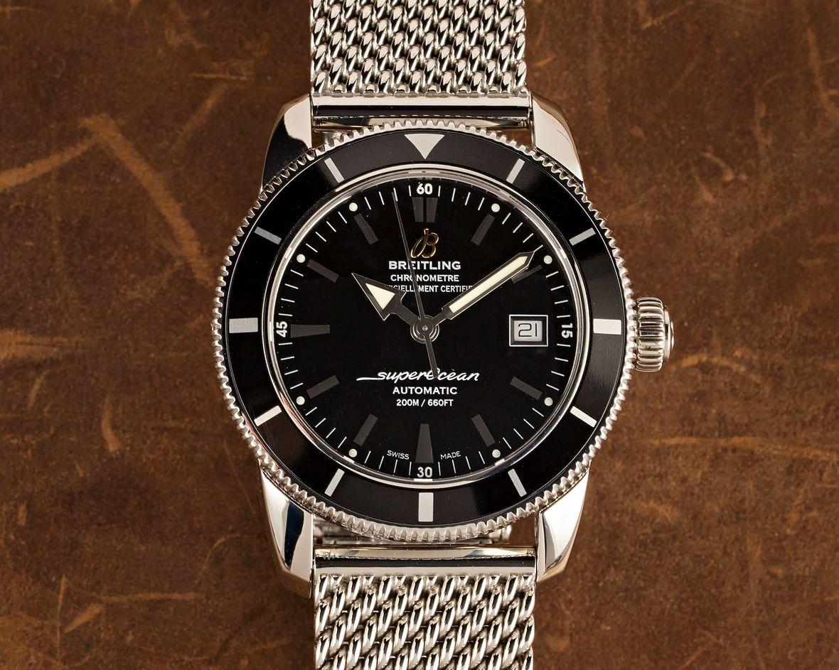 Breitling Superocean Heritage Black Dial