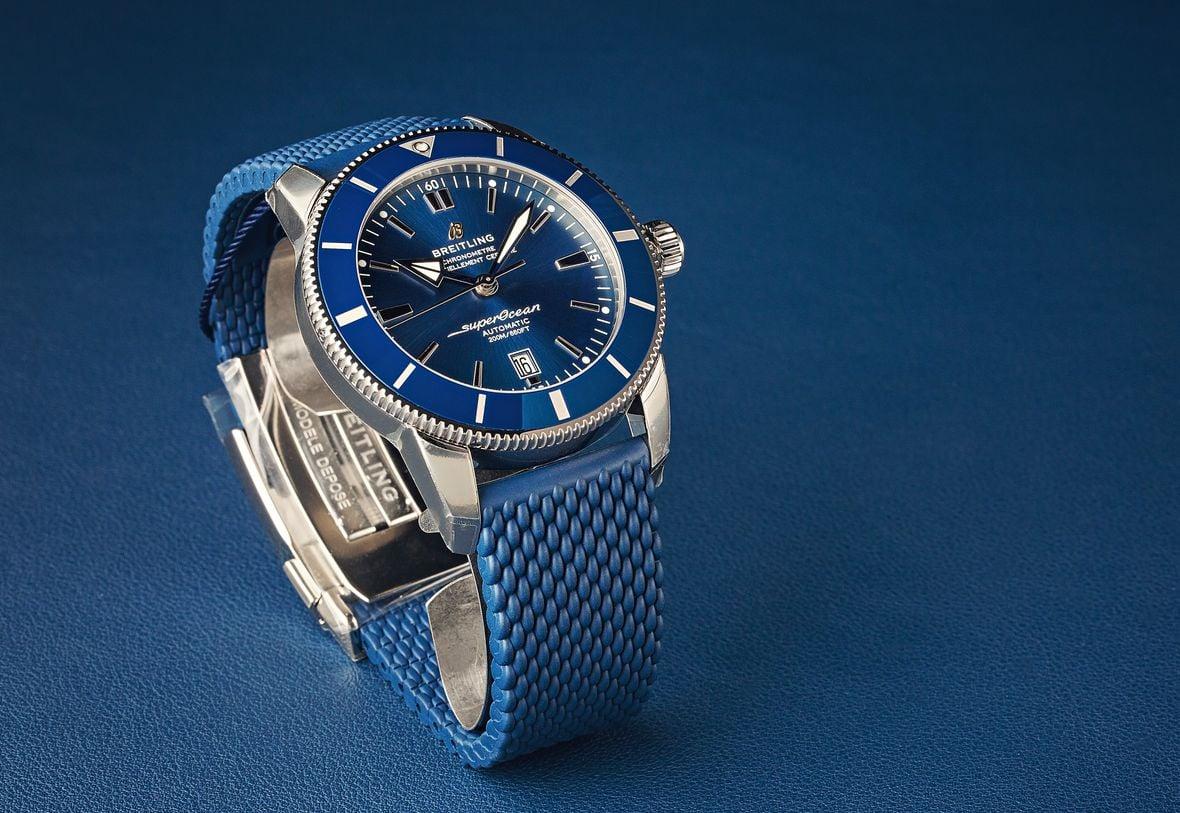 Breitling Superocean Heritage Blue