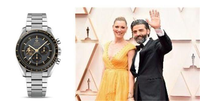 Omega Watches 92nd Academy Awards Oscar Isaac Speedmaster