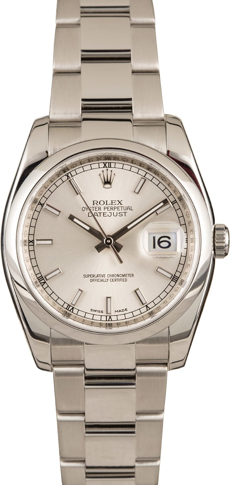 Greatest Men's Luxury Watches Guide Rolex Datejust stainless steel 36mm