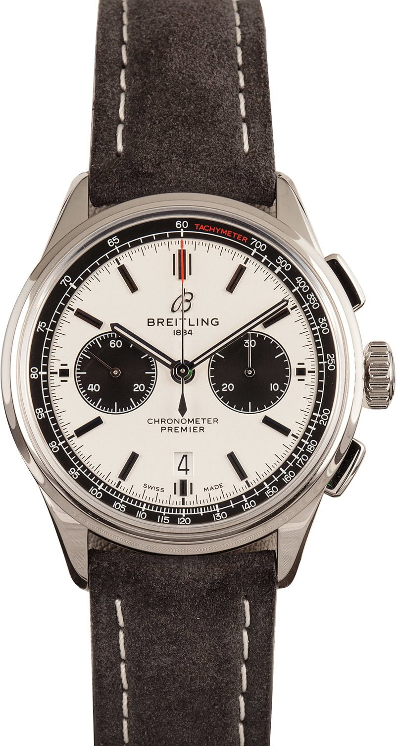 Men's Luxury Watches Shopping Guide Breitling Premier B01 Chronograph pilots watch