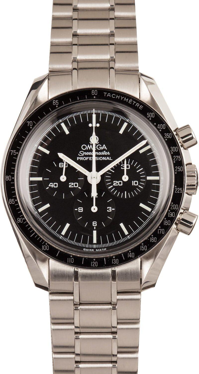 Top Men's Luxury Watches For Beginners Omega Speedmaster Professional Moonwatch Hesalite