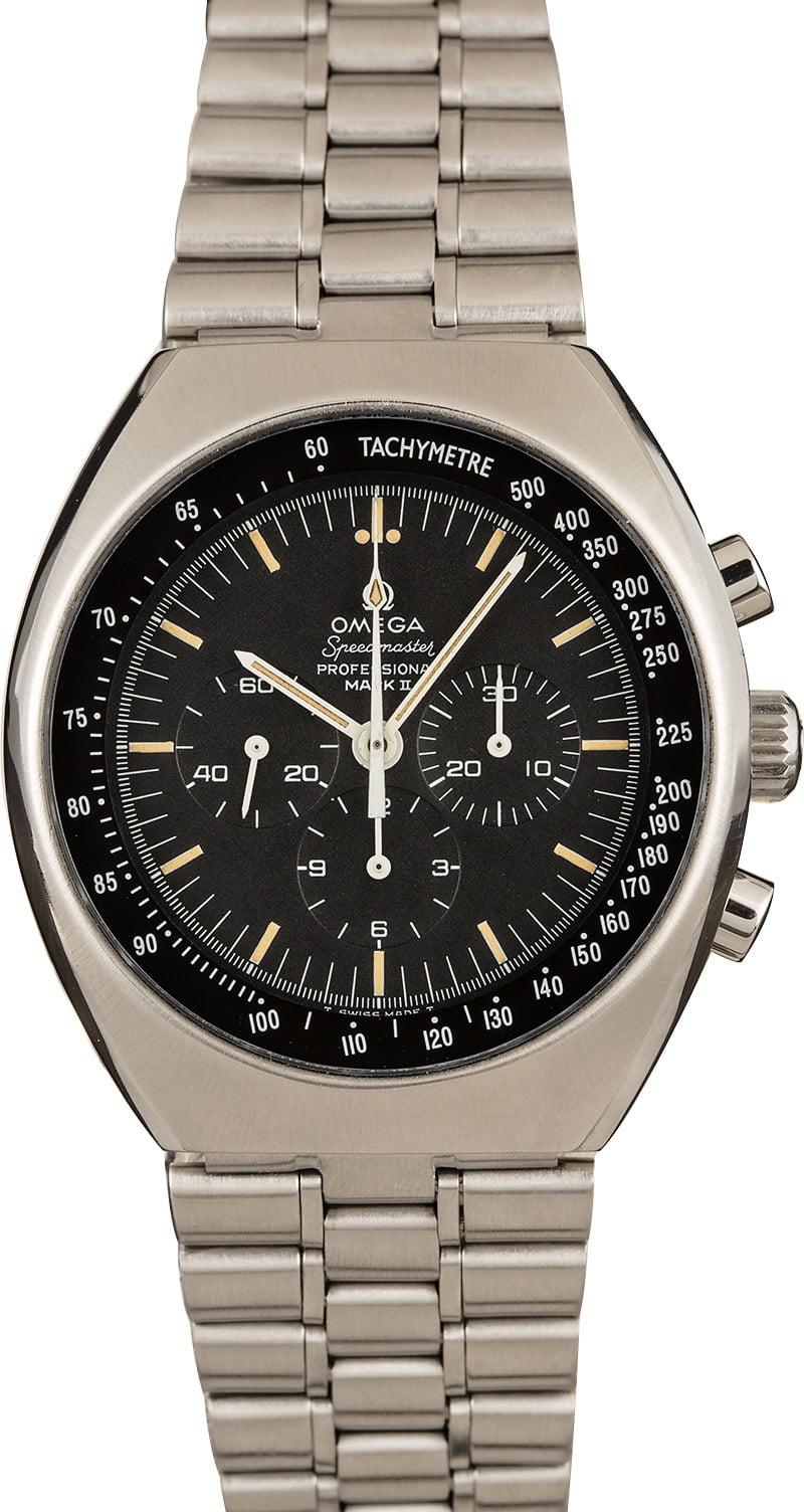 Best Omega watches under $10K Speedmaster MKII 145.014