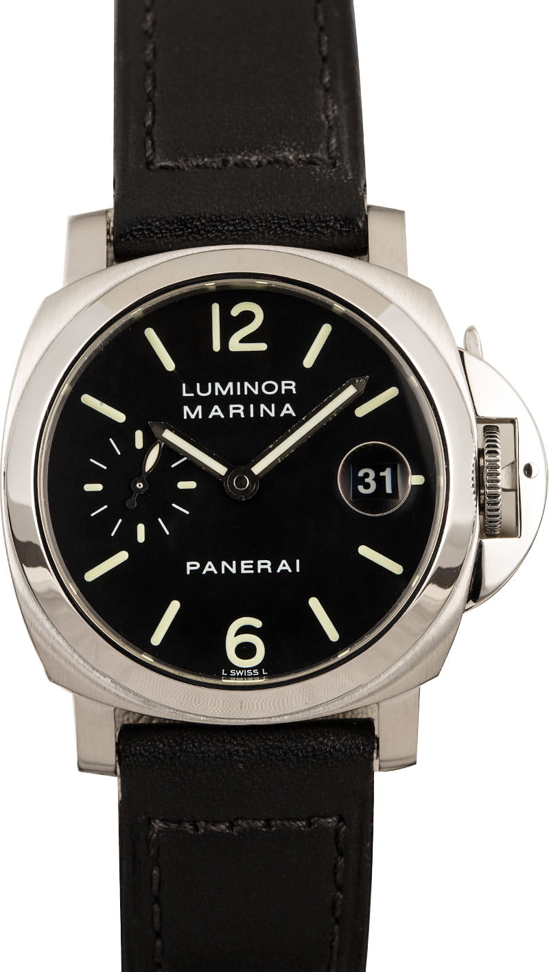 Best Men's Luxury Watches Collecting Guide Panerai Luminor Marina PAM048