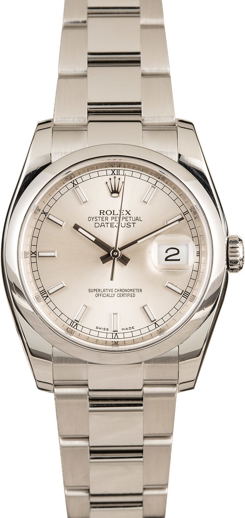 Best Rolex Datejust 36mm Models Popularity 116200 Stainless Steel