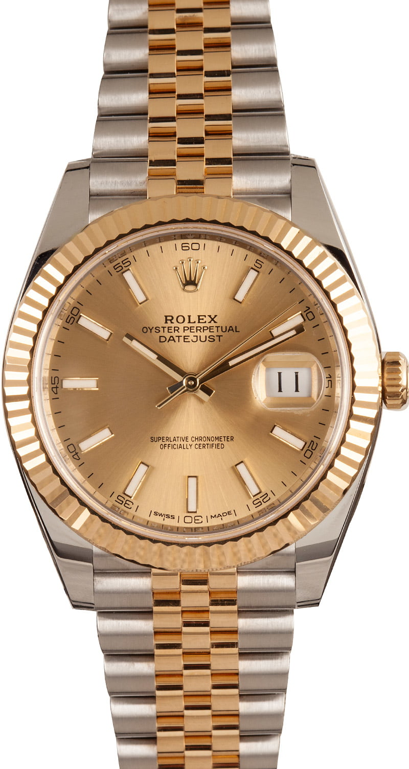 The Best Two-Tone Rolex Watches for Men Datejust 41mm 126333