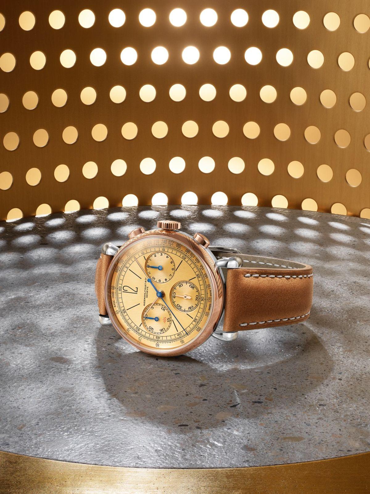 New 2020 Audemars Piguet [Re]master01 Chronograph vintage 1943