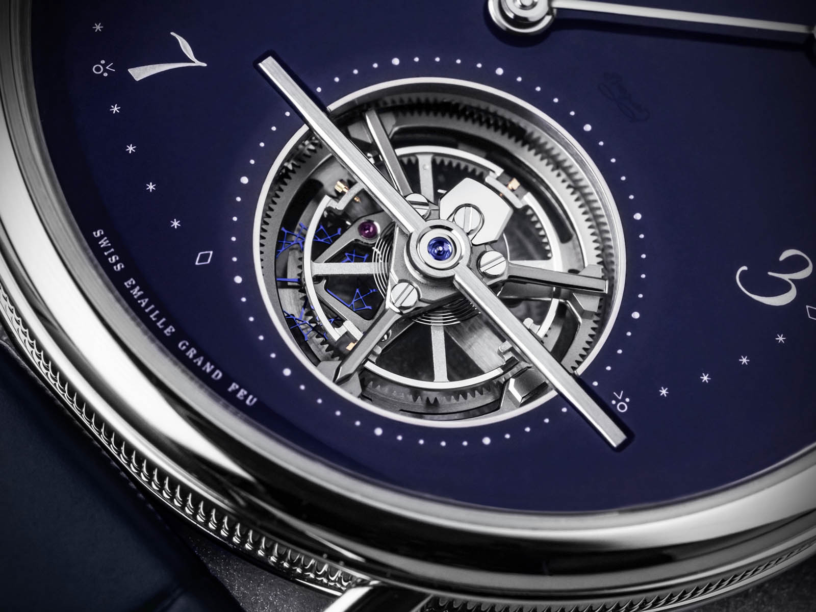 Breguet watches Classique Tourbillon Extra-Plat 5367PT Blue Dial Platinum