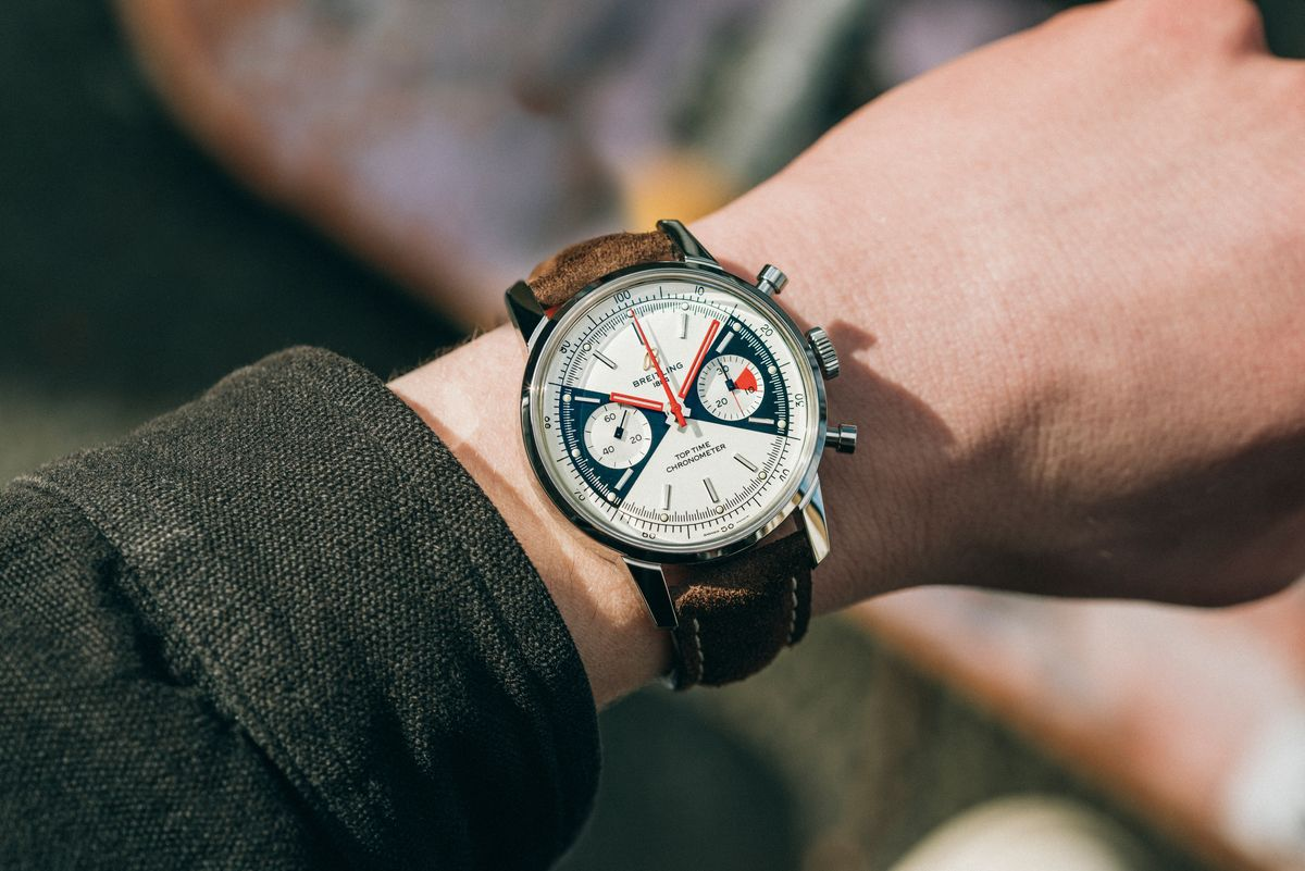 Why Breitling Heritage Reissue Watches Work so Well Zoro Top Time Chronograph