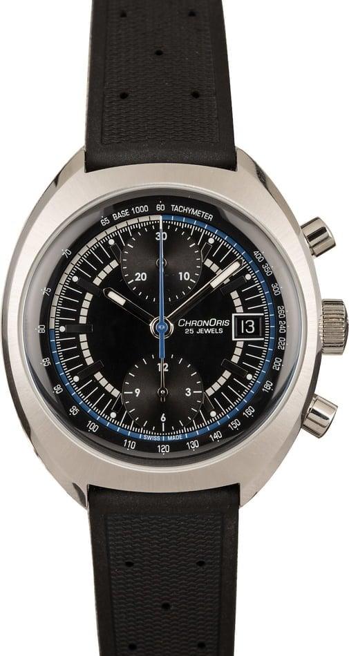 Oris watches Chronoris Williams Racing Chronograph