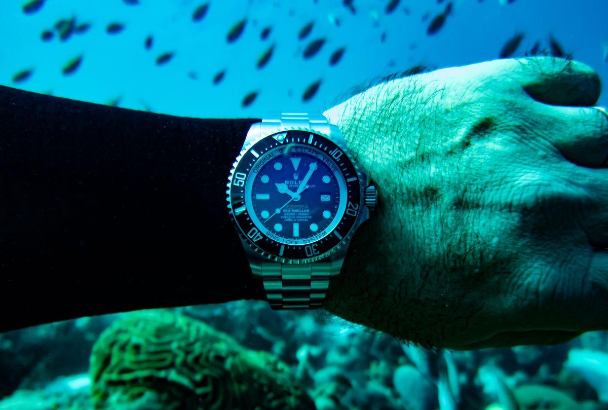 Rolex Sea-Dweller Deepsea James Cameron D-Blue Dial SCUBA Field Test