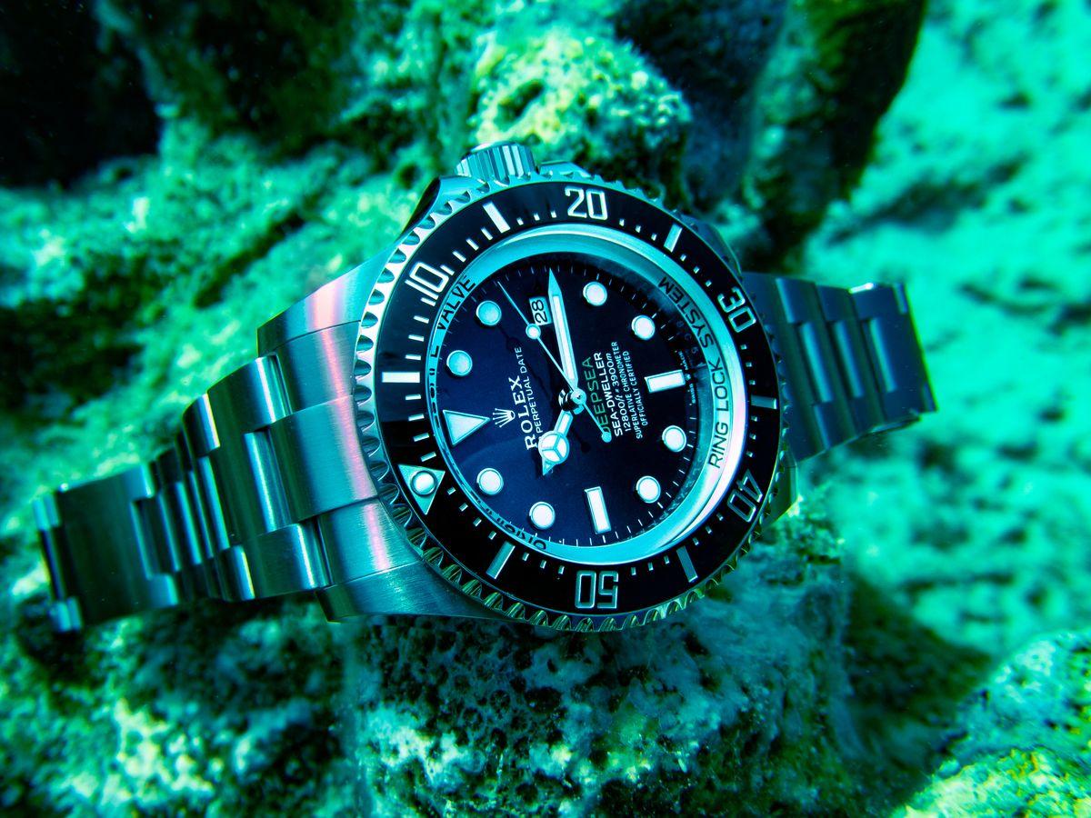 Rolex Sea-Dweller Deepsea SCUBA Diving Field Test D-Blue Dial James Cameron