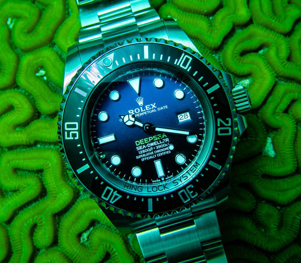 Rolex Sea-Dweller Deepsea SCUBA Diving James Cameron D-Blue Dial